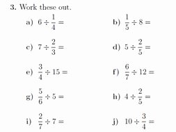 Dividing Fractions Using Models Worksheet Inspirational Dividing Fractions and whole Numbers Worksheet with