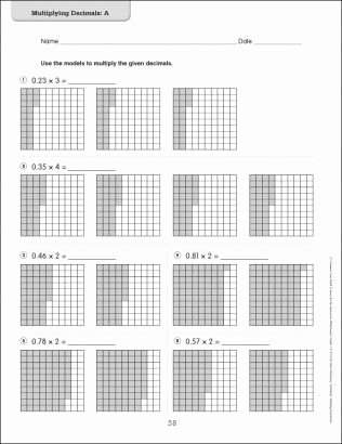Dividing Fractions Using Models Worksheet Inspirational Use Models to Add Decimals Google Search
