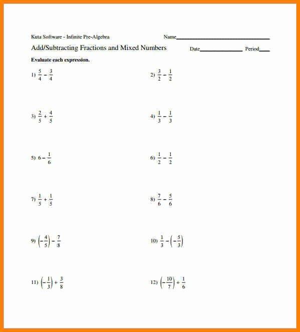 Dividing Fractions Worksheet Pdf New Adding Subtracting Multiplying and Dividing Fractions