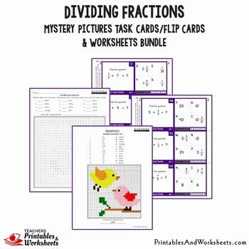 Dividing Mixed Numbers Worksheet Best Of Dividing Fractions and Mixed Numbers Worksheet Mystery