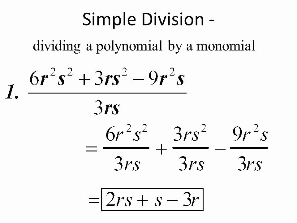 Dividing Polynomials by Monomials Worksheet Luxury Division Of Polynomials by Monomials Worksheet – Dzulfikar