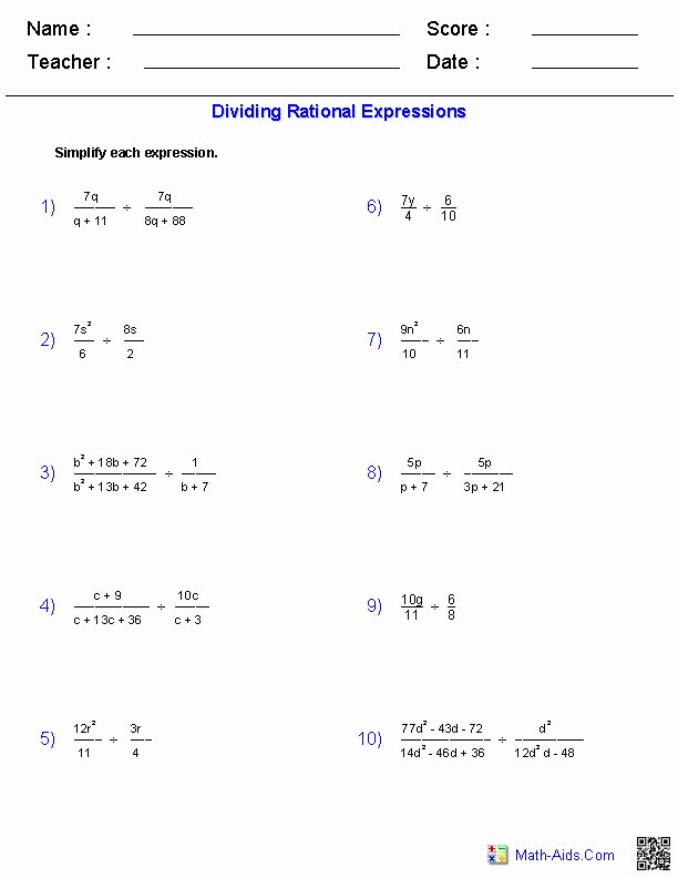 Dividing Polynomials Worksheet Answers Best Of Dividing Polynomials Worksheet