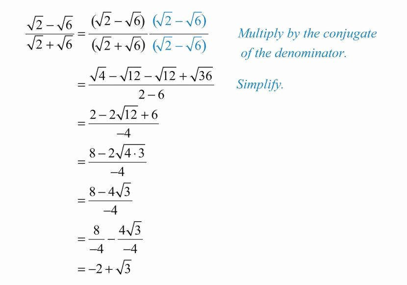 Dividing Radical Expressions Worksheet Lovely Simplifying Radicals Worksheet 1