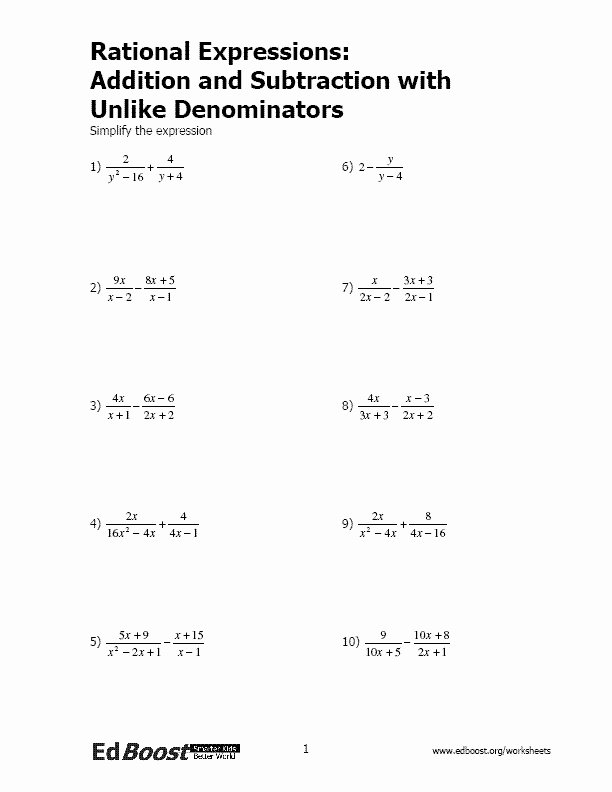 Dividing Rational Expressions Worksheet Elegant Multiplying Rational Expressions Worksheet