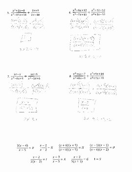 Dividing Rational Expressions Worksheet Lovely Multiplying and Dividing Rational Expressions Joke