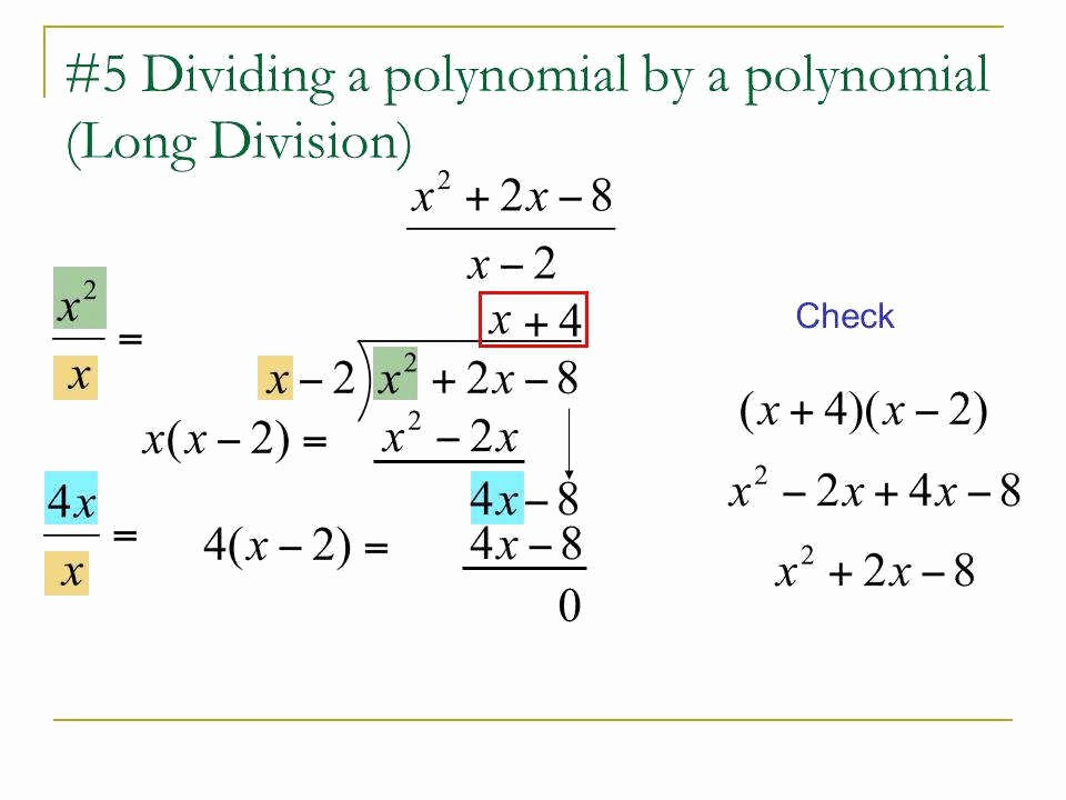Division Of Polynomials Worksheet Best Of Polynomial Long Division Worksheet