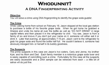 Dna Fingerprinting Worksheet Answers Fresh This Product Offered by Spyglass Biology Contains A Dna