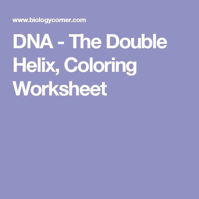 Dna the Double Helix Worksheet Luxury 56 Best Science Printable Worksheets Primaryleap Images