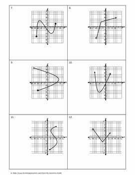 Domain and Range Worksheet Answers Elegant Algebra 1 Worksheet Domain & Range by My Geometry World