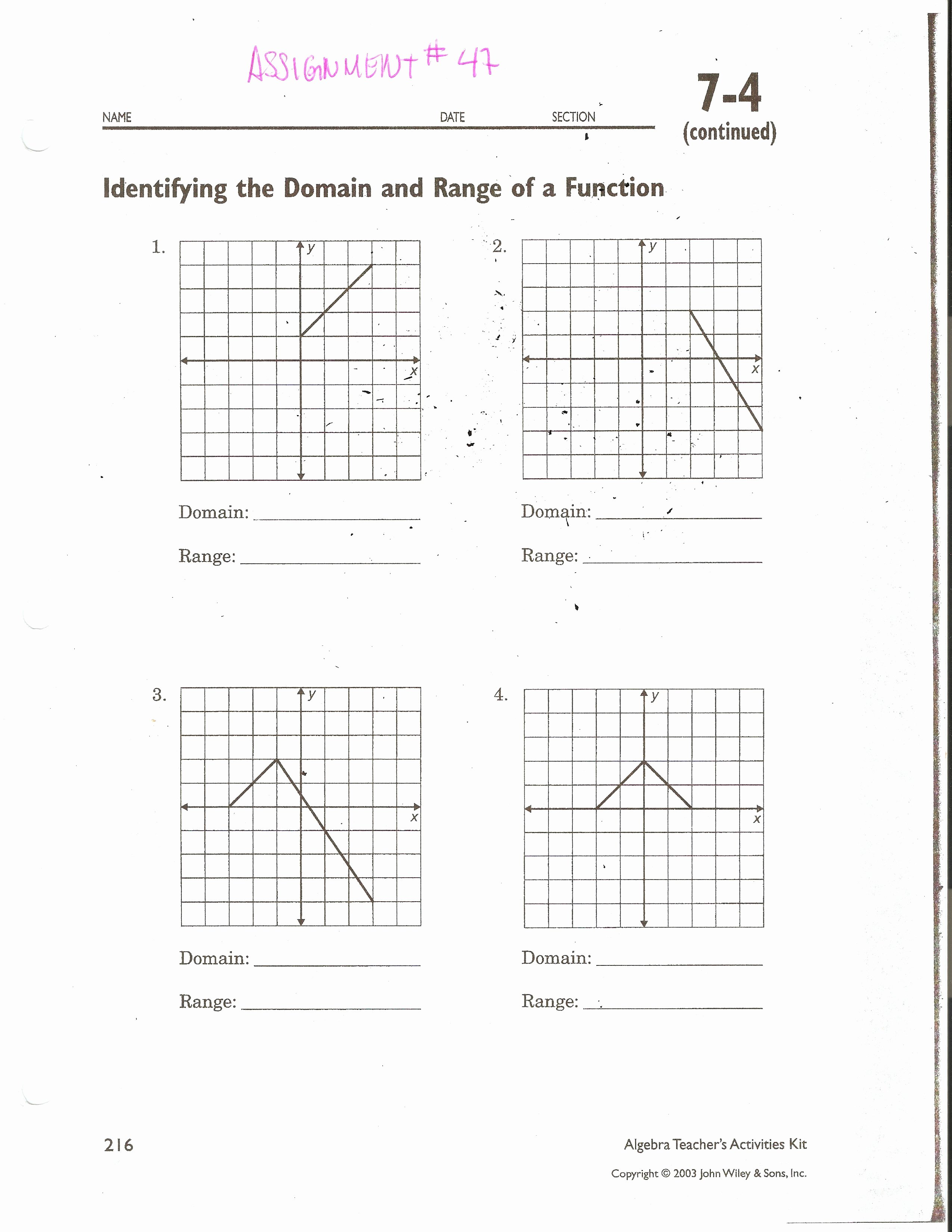 Domain and Range Worksheet Answers New Domain and Range Graph Worksheet Answers Fresh 10 Unique