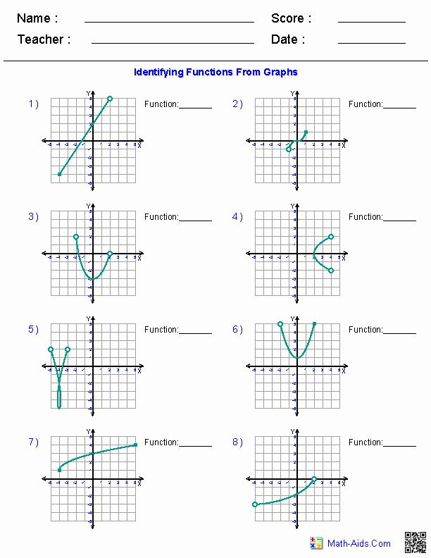 Domain and Range Worksheet Awesome Algebra 1 Worksheets