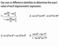 Double Angle Identities Worksheet Best Of Angle Sum and Difference Identities Pound Angles
