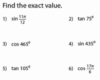 Double Angle Identities Worksheet Inspirational Angle Sum and Difference Identities Pound Angles