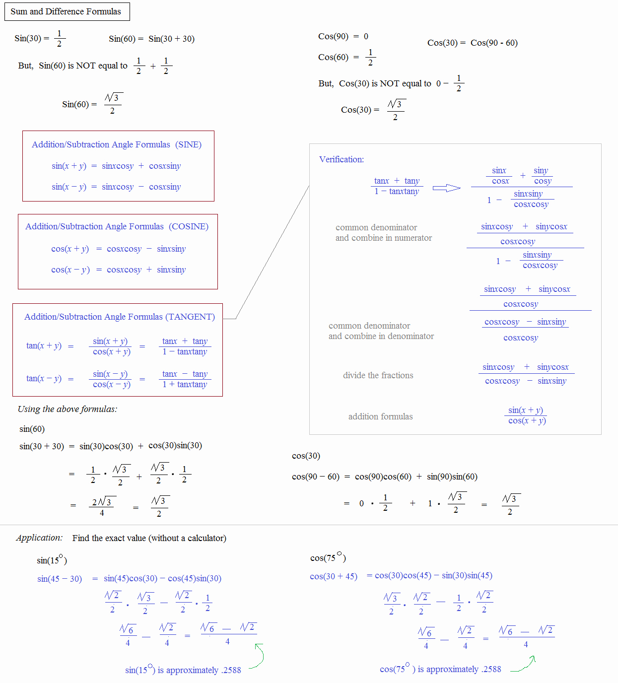 Double Angle Identities Worksheet Unique Math Plane Trig Identities Ii Double Angles
