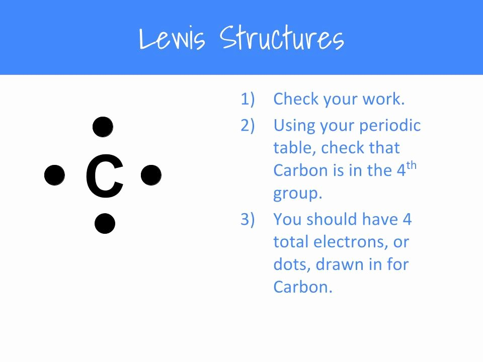 Drawing Lewis Structures Worksheet Awesome How to Draw Lewis Structures – A Step by Step Tutorial