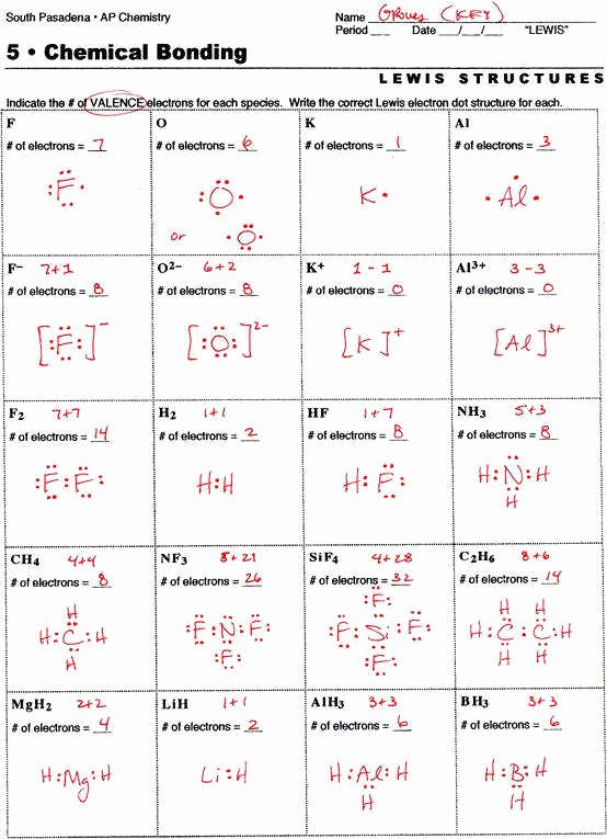 Drawing Lewis Structures Worksheet Best Of Lewis Dot Structure Worksheet