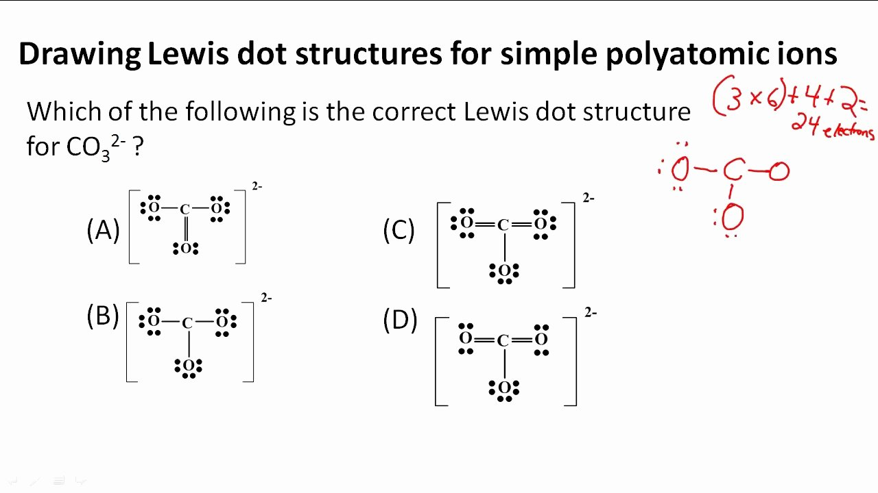 Drawing Lewis Structures Worksheet Fresh Drawing Lewis Dot Structures for Simple Polyatomic Ions
