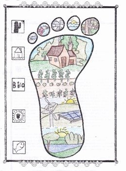 Ecological Footprint Calculator Worksheet Fresh My Ecological Footprint by Biology Buff