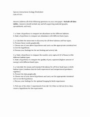 Ecological Succession Worksheet Answers New 12 Best Of Ecological Succession Worksheet