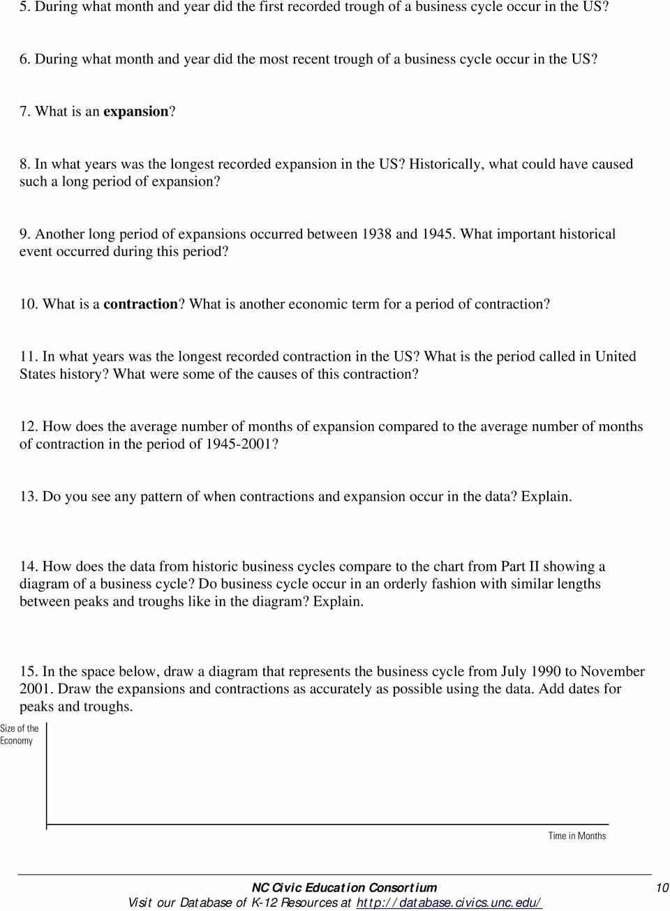 Economic Systems Worksheet Pdf Beautiful Chapter 12 Section 2 Business Cycles Worksheet Answers