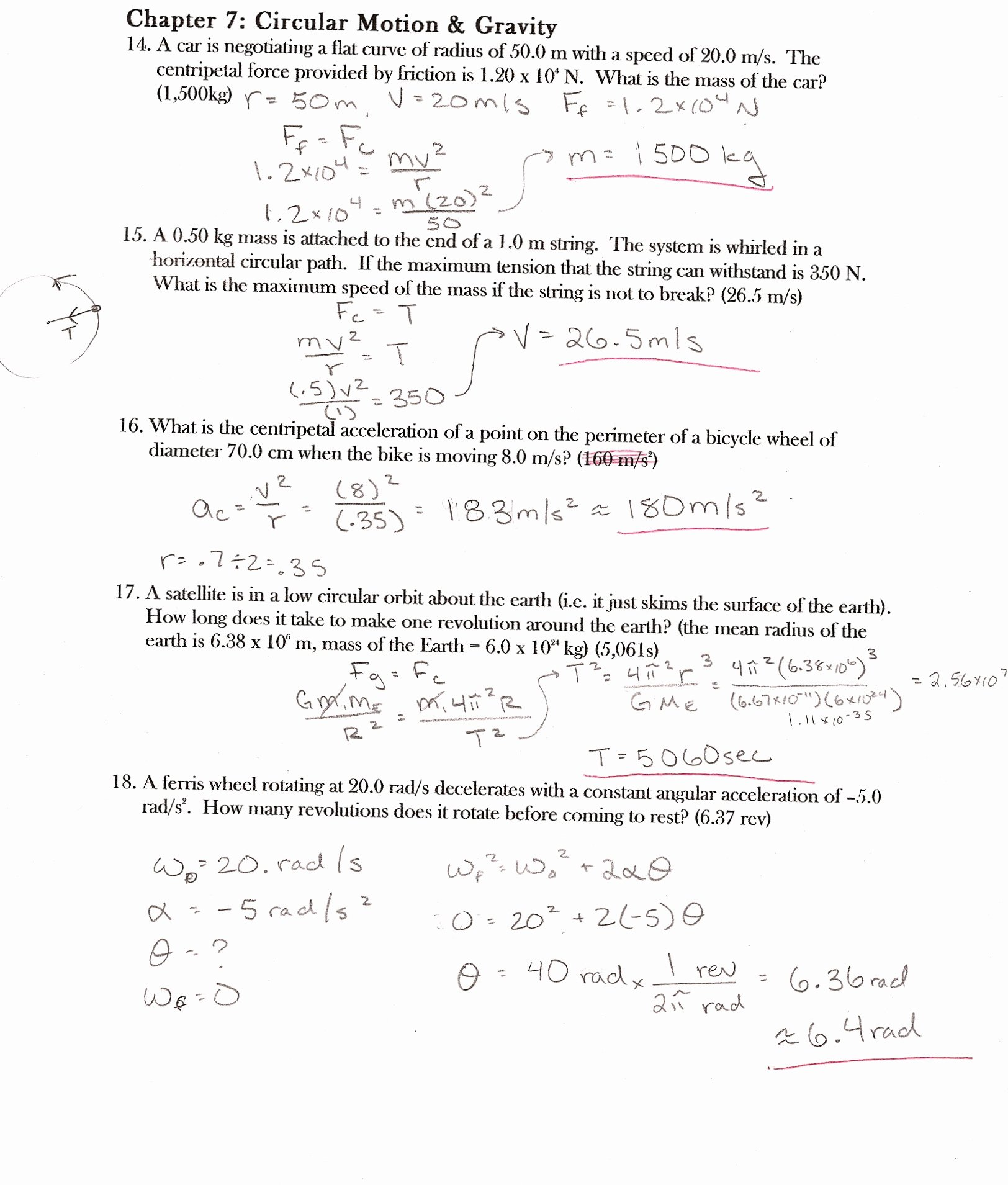 Electrical Power Worksheet Answers Elegant Ap Physics Answers