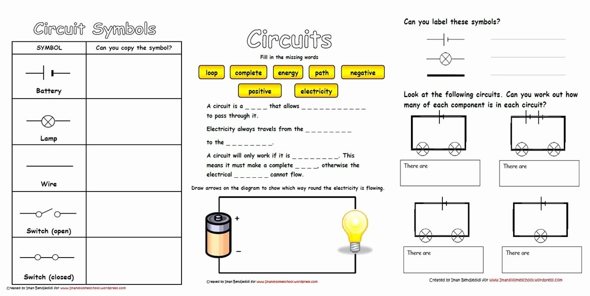Electrical Power Worksheet Answers Inspirational Fun with Circuits