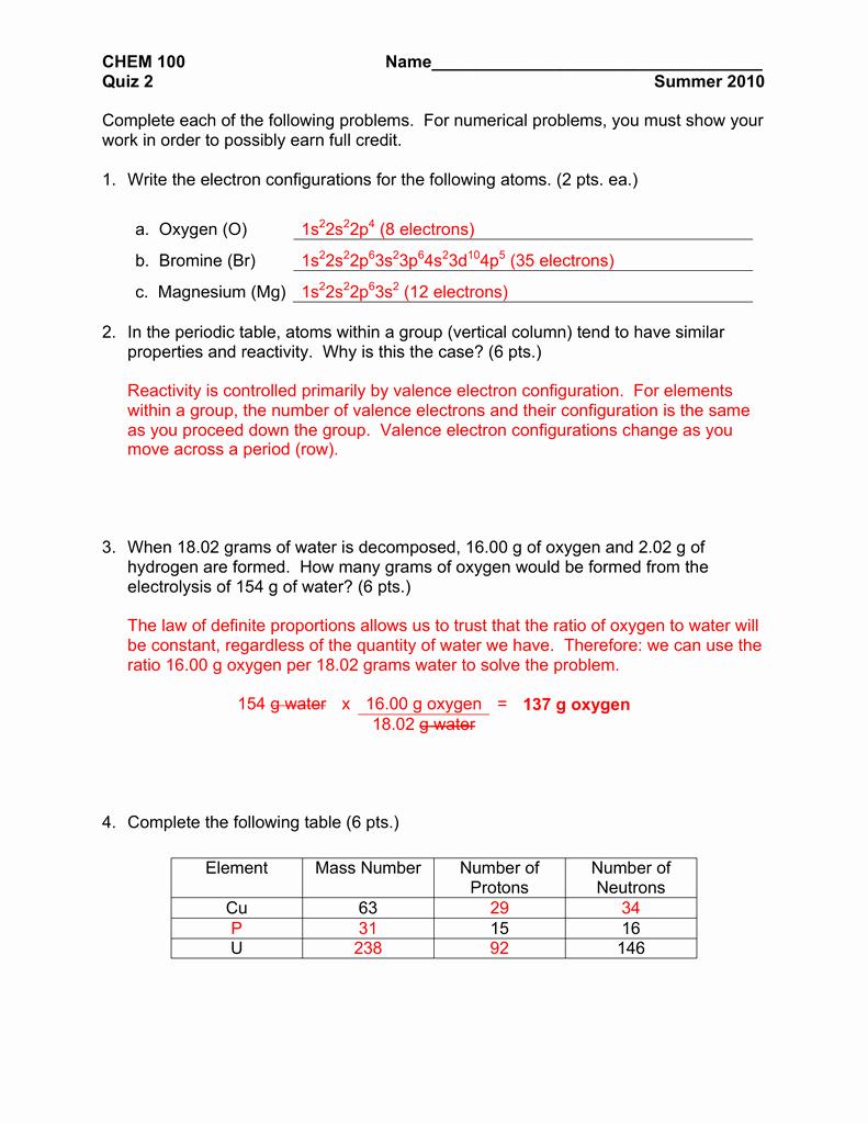 Electron Configuration Practice Worksheet Luxury 0205 Electron Arrangement and Emr Line Spectra Lab
