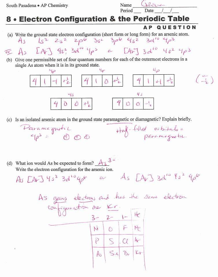 Electron Configuration Worksheet Answers Key Beautiful Electron Configuration Worksheet Answer Key