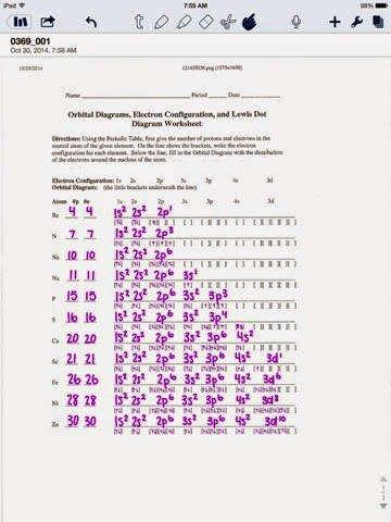 Electron Configuration Worksheet Answers Key Inspirational Electron Configuration Worksheet Answer Key