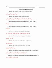 Electron Configurations Worksheet Answer Key Inspirational Electron Configuration Evaluation 10 Lawrencium