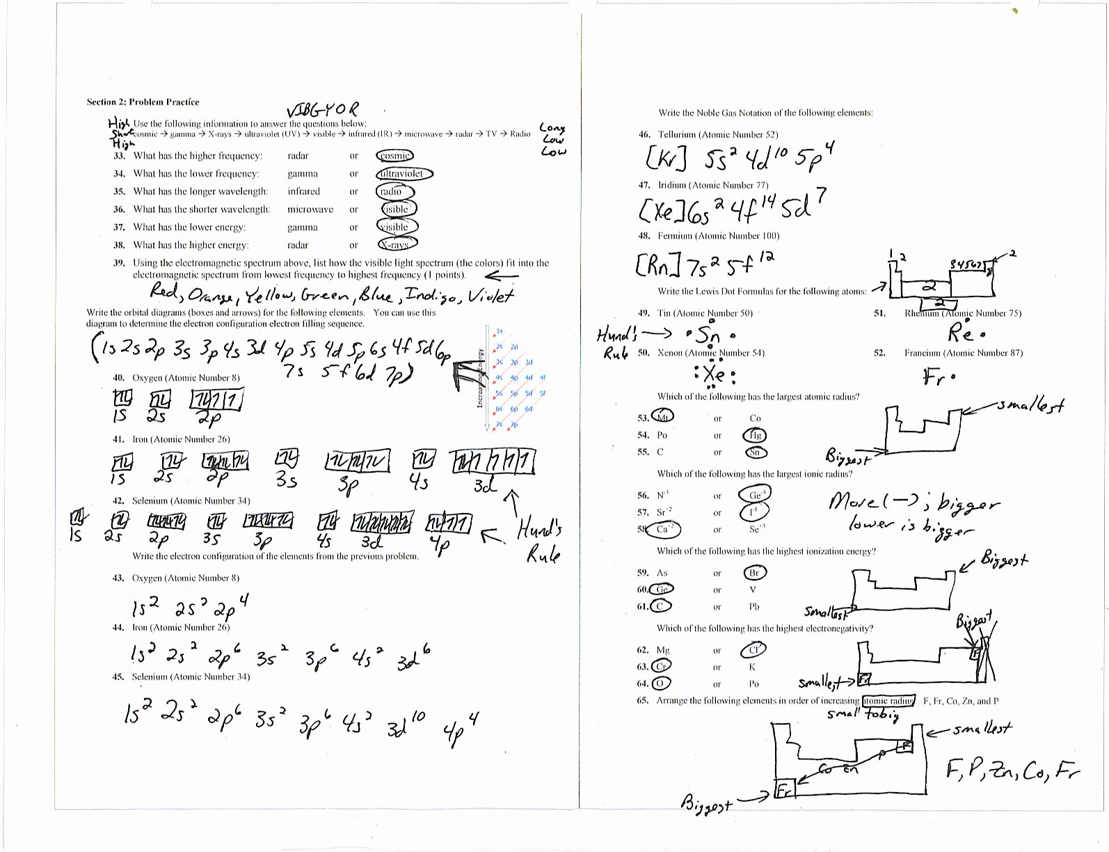 Electron Configurations Worksheet Answer Key Unique Morris Joe Chemistry Unit 3 Electron Configurations