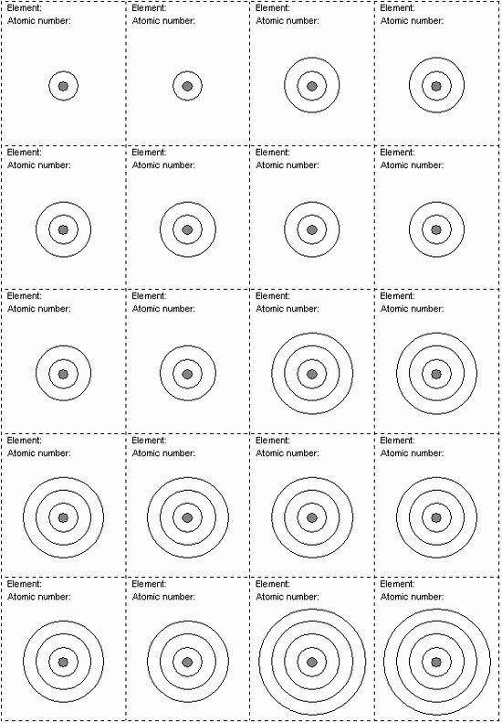 Electron Dot Diagram Worksheet Beautiful Electron Shell Worksheet