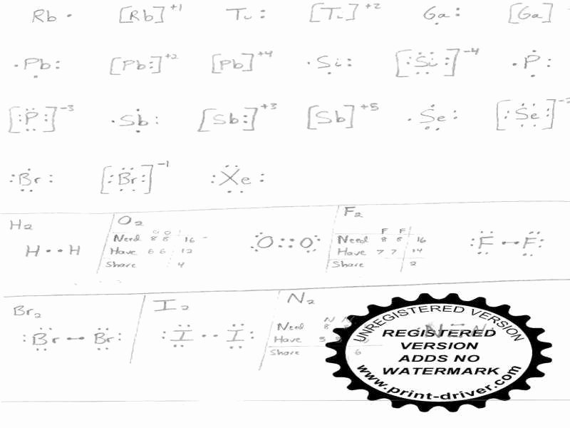 Electron Dot Diagram Worksheet Fresh Lewis Dot Structure Worksheet