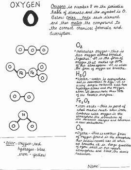 Element Compound Mixture Worksheet Best Of Element Pound Mixture Coloring Activity and Worksheets