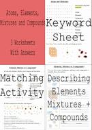 Element Compound Mixture Worksheet Best Of Elements Pounds and Mixtures 3 Worksheets Answers