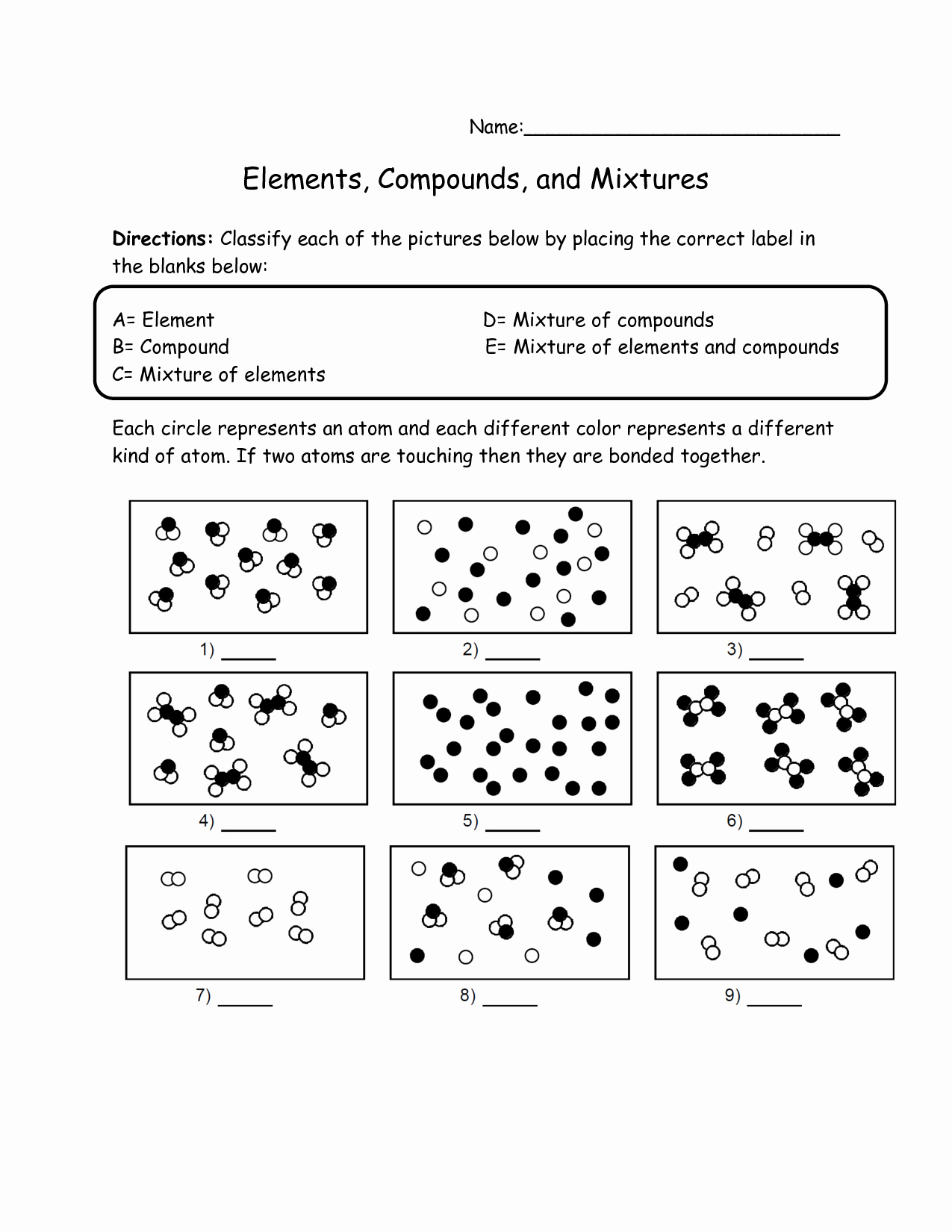 Elements Compounds and Mixtures Worksheet New 17 Best Of Elements Pounds and Mixtures