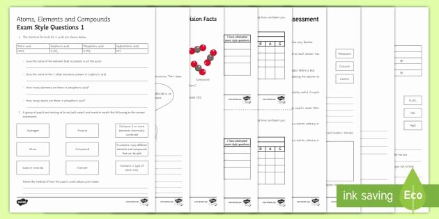 Elements Compounds Mixtures Worksheet Answers Inspirational Elements Pounds and Mixtures 1 Worksheet Answers