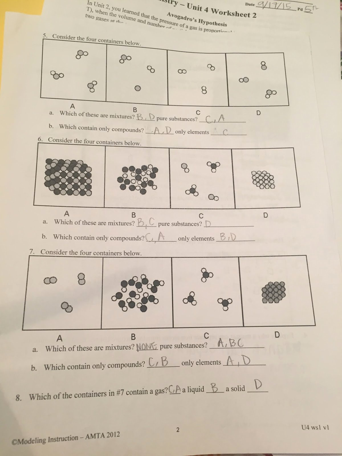 Elements Compounds Mixtures Worksheet Answers New Tara Shetty Sg Chem 2a Sg Chem 2a