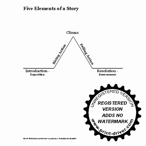 Elements Of A Story Worksheet Best Of 16 Best Of 5 Story Elements Worksheet Story