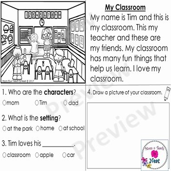 Elements Of A Story Worksheet Best Of Kindergarten Story Element Worksheets Set 2 by Mom Plus