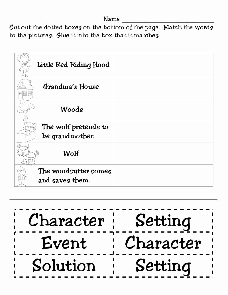 Elements Of A Story Worksheet Best Of Story Elements Activities On Pinterest