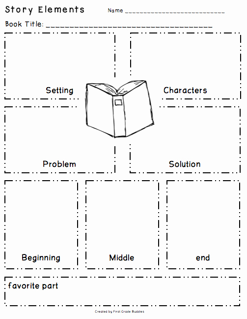Elements Of A Story Worksheet Best Of Workshop Wednesday Reading organizers