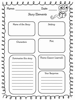 Elements Of Drama Worksheet Beautiful Literary Elements Graphic organizer by This Girl Reads
