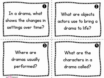 Elements Of Drama Worksheet Luxury Structure and Elements Of Drama Unit Grades 2 5 Mon