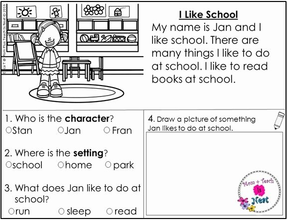 Elements Of Fiction Worksheet Awesome Kindergarten Story Element Worksheets Set 1