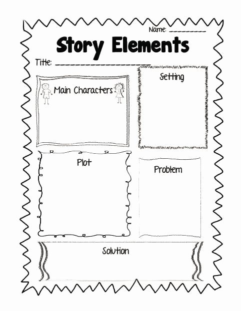 Elements Of Fiction Worksheet Lovely Mon Core Aligned Reading Response Printables Plus