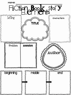 Elements Of Fiction Worksheet Unique Fable Story Elements Worksheet Google Search
