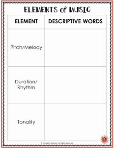 Elements Of Music Worksheet Fresh Pinterest • the World's Catalog Of Ideas