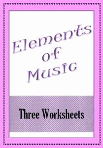 Elements Of Music Worksheet Unique 1000 Images About Music Education On Pinterest