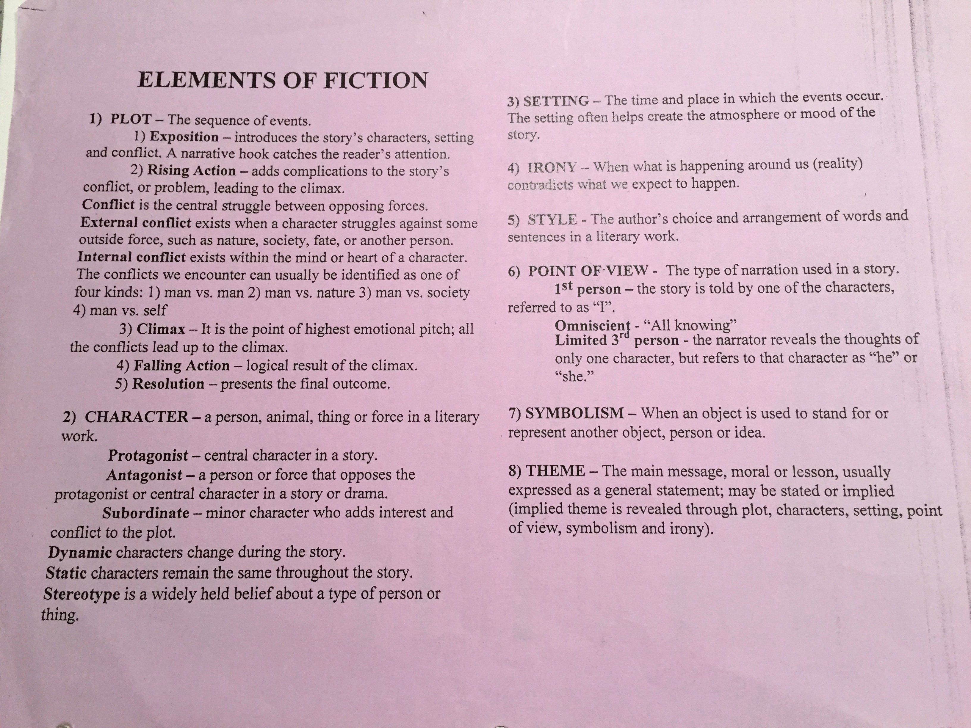 Elements Of Plot Worksheet Beautiful Lesson Plans and Worksheets – 8th English Language Arts